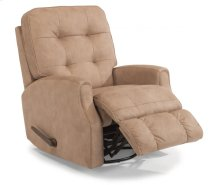 Devon Fabric Rocking Recliner without Nailhead Trim