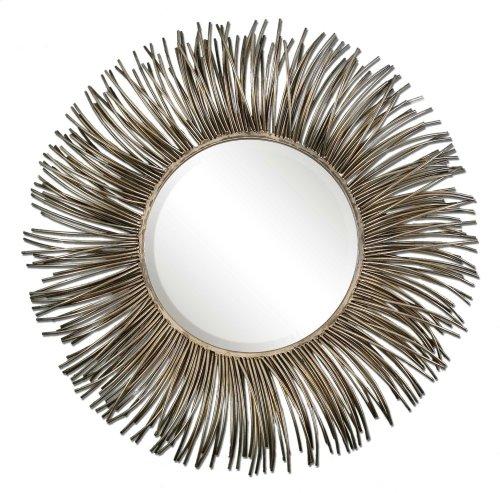 Akisha Round Mirror