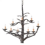 Treetop Iron Large Chandelier