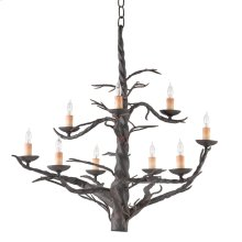Treetop Iron Large Chandelier