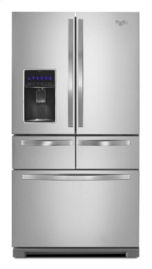 36-inch Wide Double Drawer French Door Refrigerator with Dual Cooling System - 26 cu. ft.