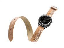 Swarovski Band for Galaxy Watch 42mm and Gear Sport, Rose Gold