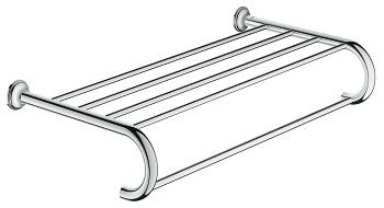 Chrome Multi-towel rack