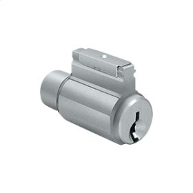 Cylinder for Residential Lever Series - Brushed Chrome