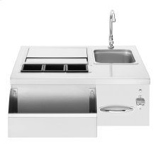Beverage Center with Sink