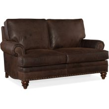 Bradington Young Carrado Stationary Loveseat 8-Way Tie 780-75