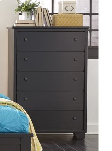 Drawer Chest - Black Finish