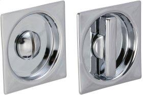 Sliding Pocket Door Mortise Lock in (US26 Polished Chrome Plated)