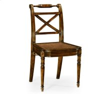 Regency Cross Frame Back Chair (Side)
