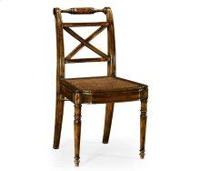 Regency Cross Frame Back Chair (Side)