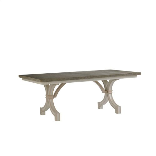 Preserve-St. Helena Trestle Table in Orchid