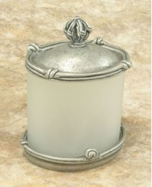 Mai Oui Large Jar with Pewter Lid