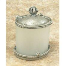Mai Oui Large Jar with Pewter Lid