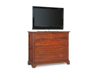 Retreat Cherry Small Media Dresser