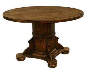 "Ixtapa 48"" Round Table Medio Finish"