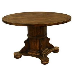 "Ixtapa 48"" Round Table Medio Finish"