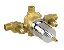 Rough Brass Pressure Balance Rough-in Valve With Screwdriver Stops