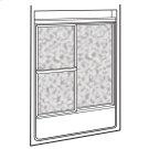 Showerite Framed Sliding Shower Doors - Silver Product Image