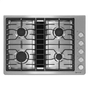"Jenn-AirJenn-Air® 30"" JX3™ Gas Downdraft Cooktop - Stainless Steel"