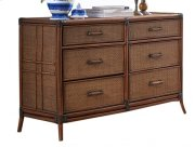 Palm Island Six Drawer Dresser Product Image
