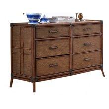 Palm Island Six Drawer Dresser