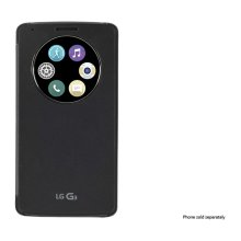 LG Quick Circle Snap-On Folio Case for LG G3