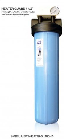 """Prolong the Life of Your Water Heater and Prevent Expensive Repairs with Heater Guard 1 1/2""""."""