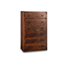 Saratoga 6 Drawer Hiboy Chest