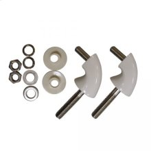 Replacement Hinge Pack for Check Hinge Toilet Seat
