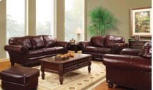 Fattoria Loveseat, Red Brown