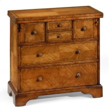 Satinwood Writing Chest