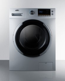 """24"""" Wide 115v Washer/dryer Combo for Non-vented Use In Platinum Finish"""