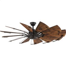 "Springer Twelve-Blade 60"" Ceiling Fan"