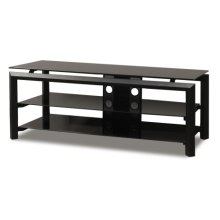 """52"""" Wide Stand Accommodates Most 55"""" and Smaller Flat Panels"""