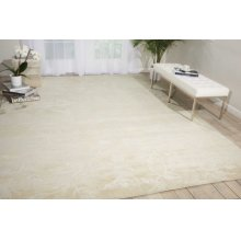 Silk Shadows Sha01 Iv Rectangle Rug 3'9'' X 5'9''