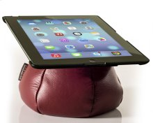 The Saddle Ipad Holder, Leather, Red