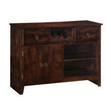 "Flynn ""Exotic Black"" Sideboard"
