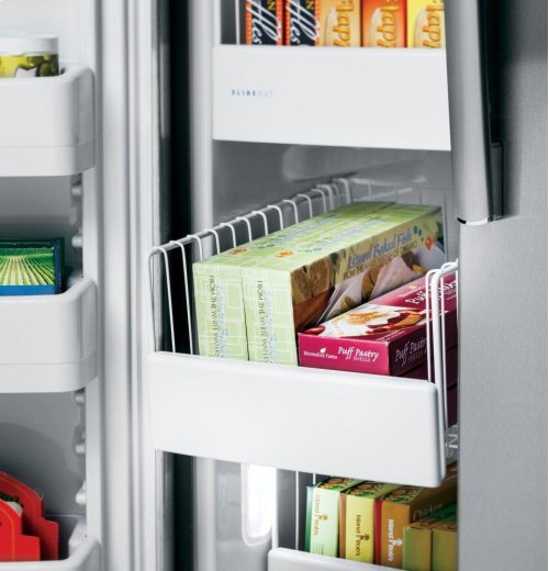 GE Profile™ Series ENERGY STAR® 25.3 Cu. Ft. Side-by-Side Refrigerator