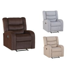"Madeline Recliner Brown 32""x32""x40"""