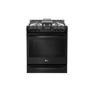 LG Appliances6.3 cu. ft. Smart wi-fi Enabled Gas Single Oven Slide-In Range with ProBake Convection®