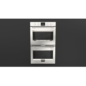 "Fulgor Milano30"" PRO DOUBLE OVEN - STAINLESS STEEL"