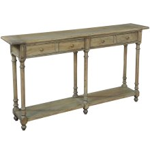 Josephson Console Table, Driftwood Fnsh