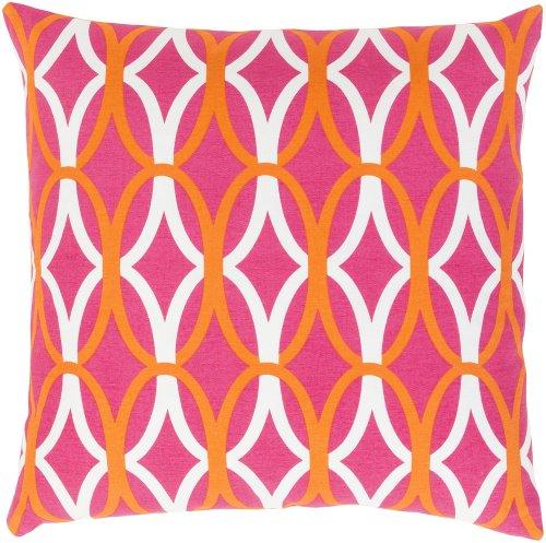 "Miranda MRA-011 18"" x 18"" Pillow Shell with Down Insert"