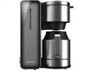 Coffee Maker with High Quality Stainless Steel & Glass Finish, Smoke Product Image