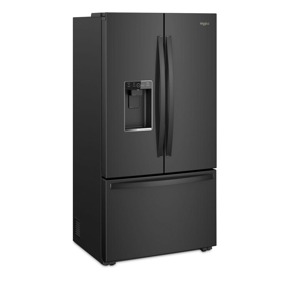 wrf954cihbwhirlpool 36 inch wide counter depth french door refrigerator 24 cu ft black. Black Bedroom Furniture Sets. Home Design Ideas