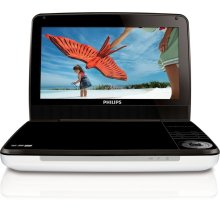 "9"" LCD 5-hr playtime Portable DVD Player"