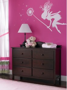Fisher-Price Double Dresser, Espresso