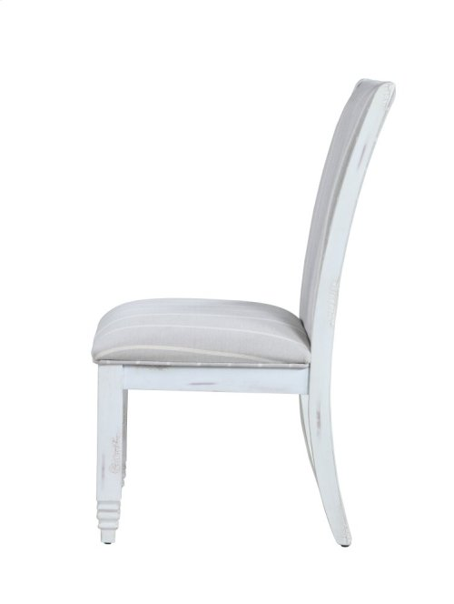 Emerald Home D719-22 Centerville Upholstered Dining Chair, Antique White