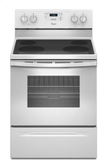 4.8 Cu. Ft. Freestanding Electric Range with FlexHeat Dual Radiant Element