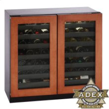 """Overlay frame Double Door Modular 3000 Series / 36"""" Wine Captain® /Dual Zone Convection Cooling System"""